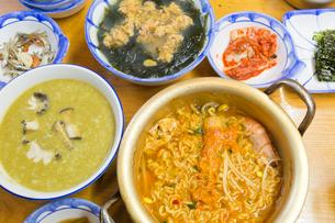 韓国,海鮮料理の写真素材 [FYI03960096]
