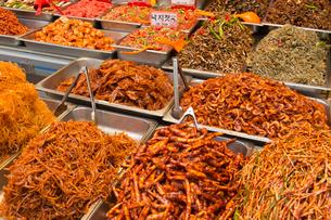 韓国料理,辛い料理の写真素材 [FYI03960108]
