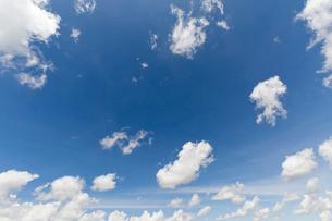 雲と空の写真素材 [FYI03960199]