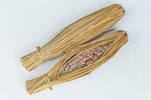 わら納豆の写真素材 [FYI03960212]