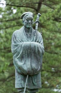 松尾芭蕉像の写真素材 [FYI03960314]