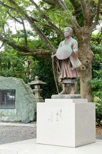 芭蕉像の写真素材 [FYI03960331]