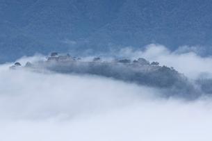 竹田城 雲海の写真素材 [FYI03960399]