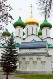 スパソプレオブラジェーンスキー聖堂の写真素材 [FYI03960417]