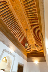バヒア宮殿の天井の写真素材 [FYI03960564]