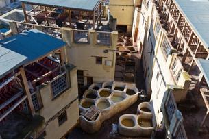旧市街 皮なめし場の写真素材 [FYI03960582]