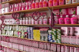 バラの香水 土産物の写真素材 [FYI03960598]
