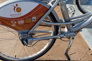 自転車 シャフトドライブの写真素材 [FYI03960607]