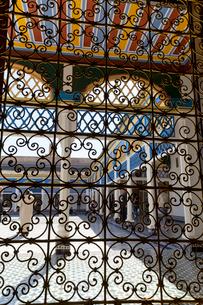 バヒア宮殿 透かし窓の写真素材 [FYI03960614]