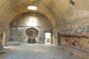 エルコラーノ フォロの浴場の写真素材 [FYI03960833]