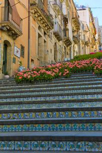 サンタマリアデルモンテの階段の写真素材 [FYI03960861]