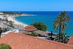 地中海のバルコニー の写真素材 [FYI03960979]