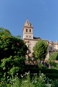 アルハンブラ宮殿 サンタ・マリア・アルハンブラ教会 の写真素材 [FYI03961057]