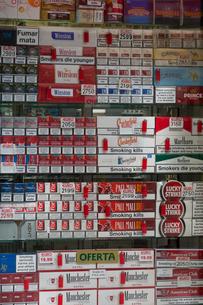 タバコ屋の写真素材 [FYI03961082]