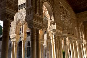 アルハンブラ宮殿 ライオンの中庭の写真素材 [FYI03961100]