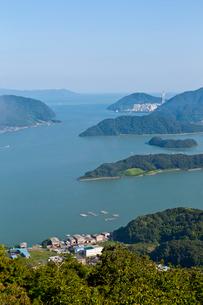 五老岳からの舞鶴湾の写真素材 [FYI03961119]