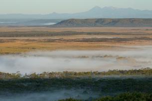 釧路湿原の朝の写真素材 [FYI03961123]