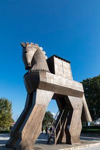 トロイの木馬の写真素材 [FYI03961159]