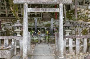 坂本龍馬  中岡慎太郎の墓の写真素材 [FYI03961337]