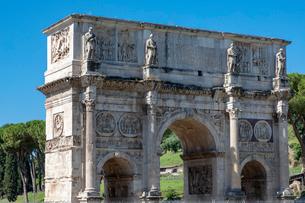 コンスタンティヌスの凱旋門の写真素材 [FYI03961486]