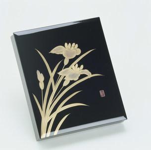 会津塗 文庫の写真素材 [FYI03961683]