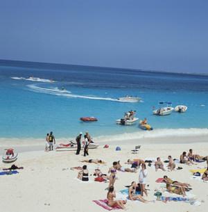 パラダイスビーチの写真素材 [FYI03961732]
