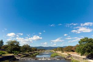 葵橋からの鴨川の写真素材 [FYI03961802]