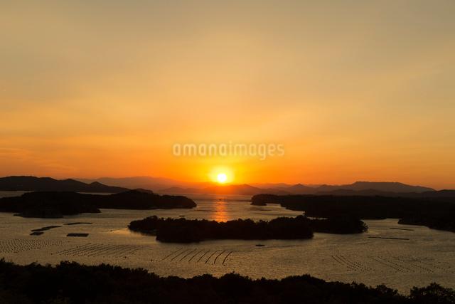 英虞湾,夕日の写真素材 [FYI03961828]