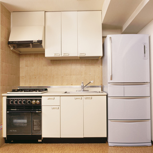 台所の写真素材 [FYI03961922]