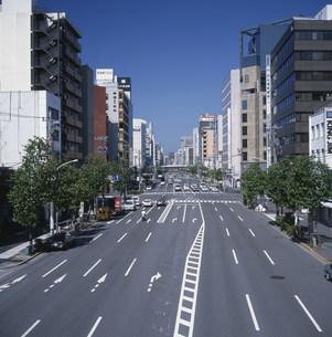 靖国通り 東神田付近の写真素材 [FYI03962325]