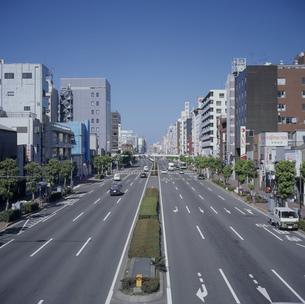京葉道路 国道14号線亀戸付近の写真素材 [FYI03962326]