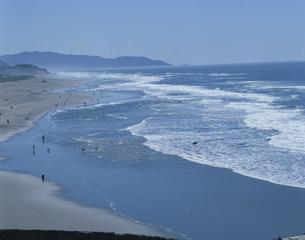 西海岸の波の写真素材 [FYI03962806]
