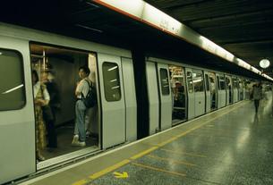 地下鉄の写真素材 [FYI03962825]