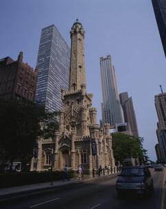 シカゴ市街の写真素材 [FYI03962837]