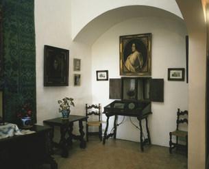 ジョルジュ・サンドの部屋  カルトゥハ修道院の写真素材 [FYI03963674]