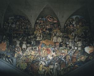 ディエゴリベラのメキシコの歴史の写真素材 [FYI03964855]