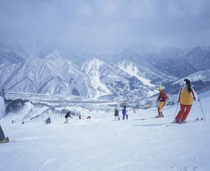 苗場スキー場の写真素材 [FYI03966583]