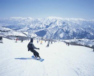 ガーラ湯沢スキー場の写真素材 [FYI03966589]