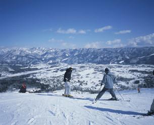 八方尾根スキー場の写真素材 [FYI03966592]