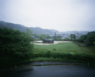 石舞台古墳の写真素材 [FYI03966604]