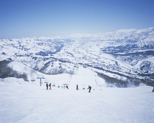 石打丸山スキー場の写真素材 [FYI03966617]