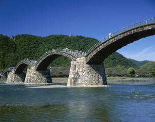 錦帯橋の写真素材 [FYI03971414]