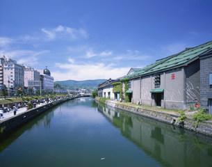 小樽運河の写真素材 [FYI03971438]