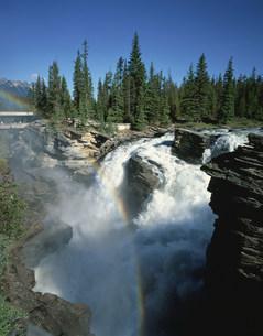 アサバスカ滝の写真素材 [FYI03972137]