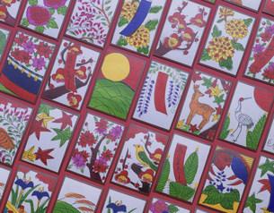 和のイメージ 花札の写真素材 [FYI03972160]