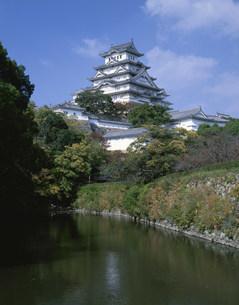 姫路城の写真素材 [FYI03972592]