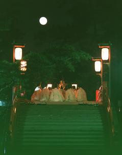 住吉大社の観月祭の写真素材 [FYI03973578]