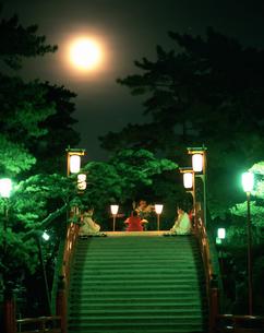住吉大社の観月祭の写真素材 [FYI03973581]