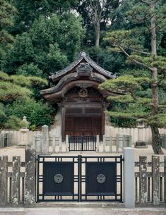 叡福寺の聖徳太子廟の写真素材 [FYI03973726]