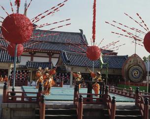 四天王寺の聖霊会舞楽の写真素材 [FYI03973942]